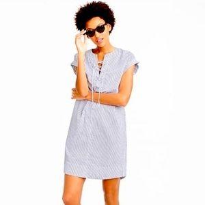 J Crew A-lube cotton dress